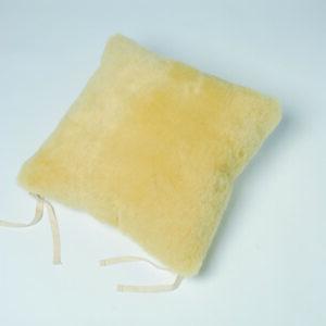 Cojín cuadrado piel natural-0