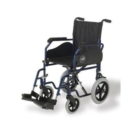 breezy 90 silla de ruedas de acero plegable 2