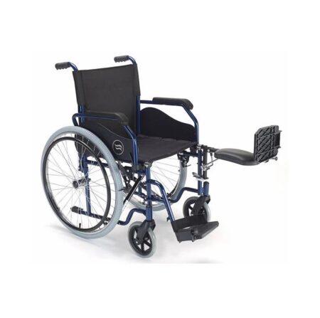 breezy 90 silla de ruedas de acero plegable 3