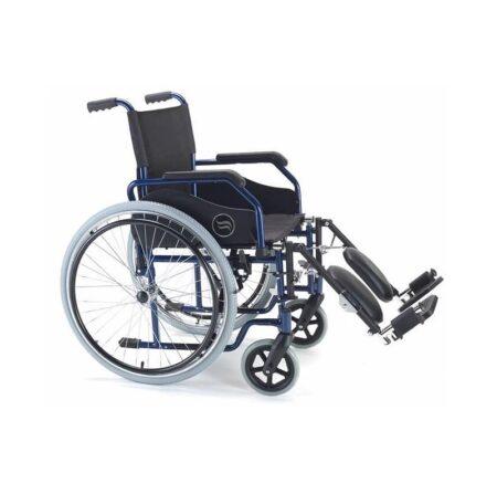 breezy 90 silla de ruedas de acero plegable 4