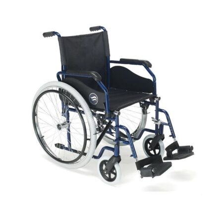 breezy 90 silla de ruedas de acero plegable
