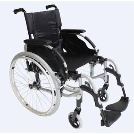 invacare action 2 ng silla de ruedas de aluminio