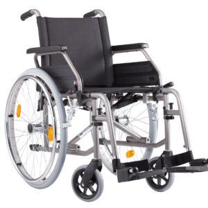 Silla de ruedas en acero plegable S-Eco 2-0