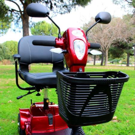scooter libercar urban cesta extraible