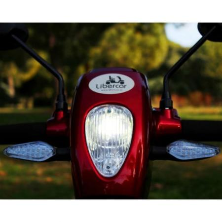 scooter libercar urban luces led