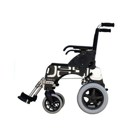 silla de ruedas de aluminio forta basic