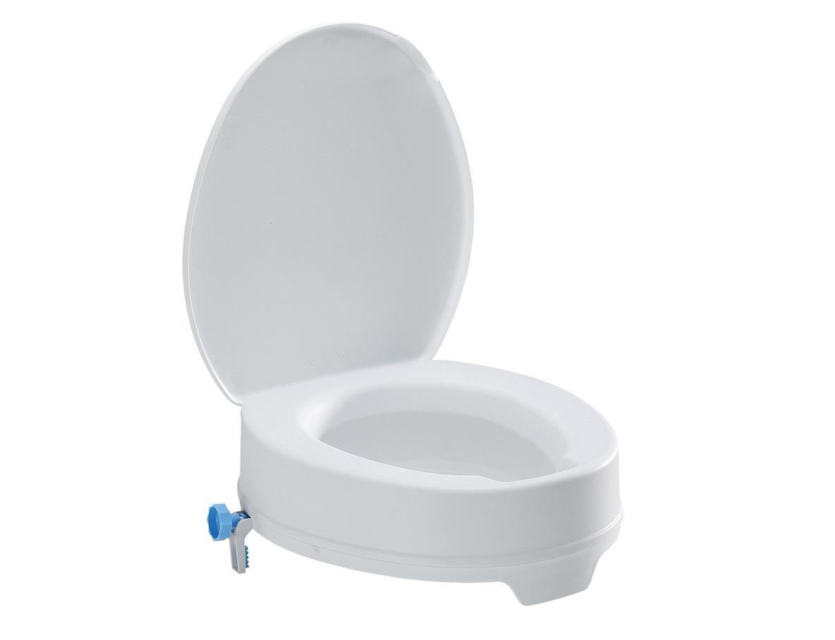 Elevador de WC 12cm con tapa-0