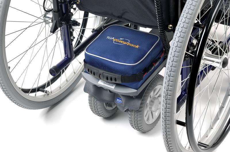 Motor para silla de ruedas - Acompañante - Dos ruedas-0