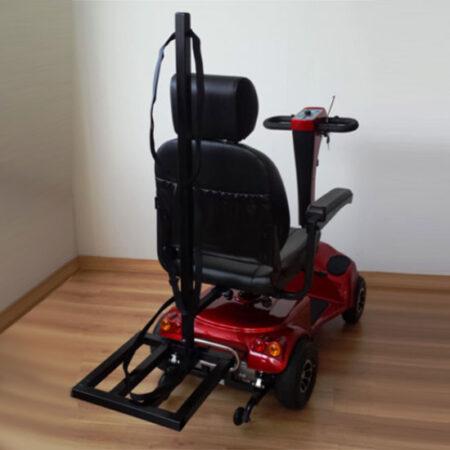 parrilla trasera sillas ruedas libercar