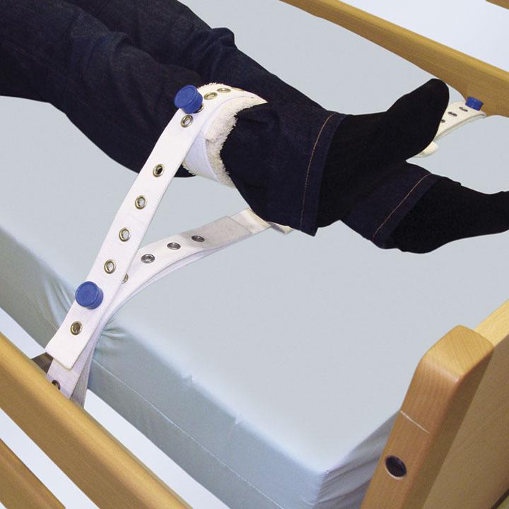 Arnés de tobillos a cama con imanes-0
