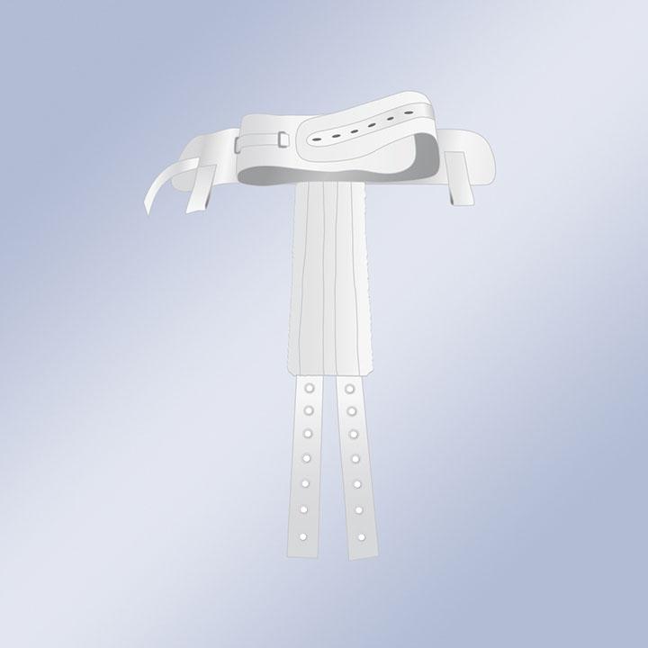 Arnés perineal a cinturón con imanes-0