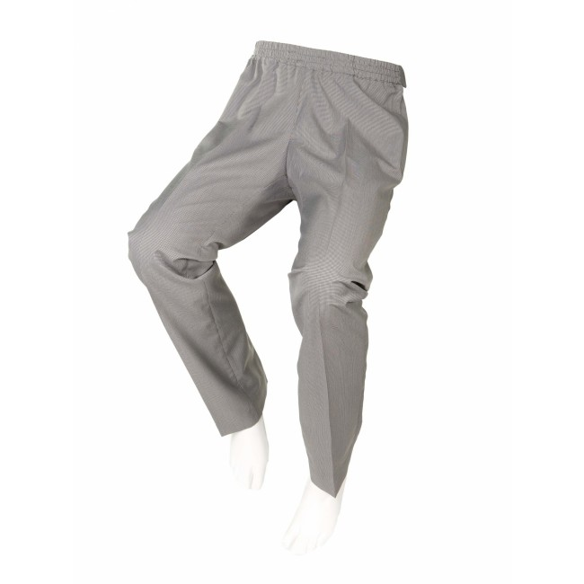 Pantalón adaptado de cuadritos para señora