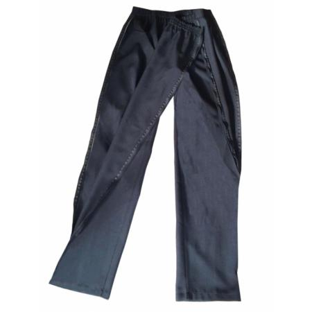 Pantalón con cremallera para señora abierto 2