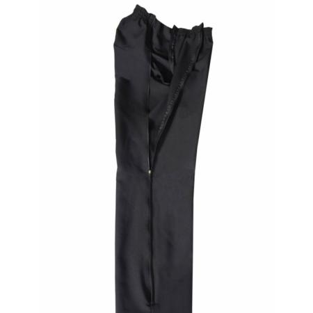 Pantalón con cremallera para señora abierto