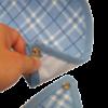 babero absor pvc textura corchete