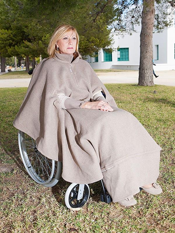 Capa de invierno para silla de ruedas-0