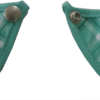 corchete babero microfibra verde estampado