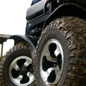 Sillas de ruedas eléctricas especial exterior