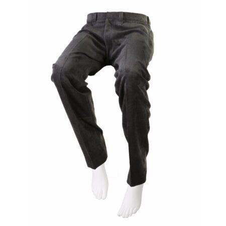 pantalon adaptado de pana gris 1