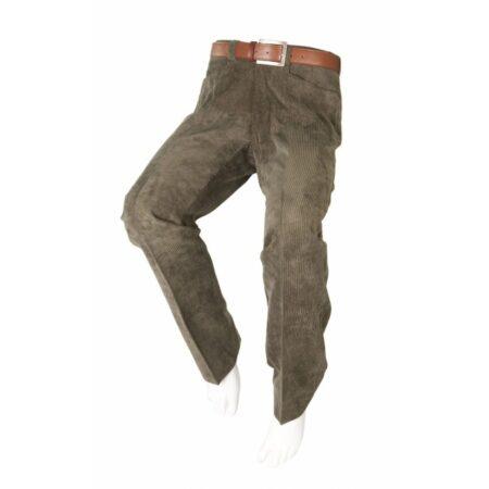 pantalon adaptado de pana verde 1