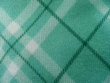 textura babero microfibra estampado verde