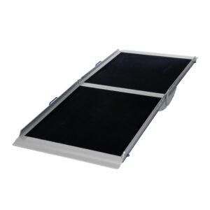 Rampa ligera portatil plegable tipo maleta -0