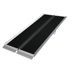 Rampa ligera portatil plegable en V-0