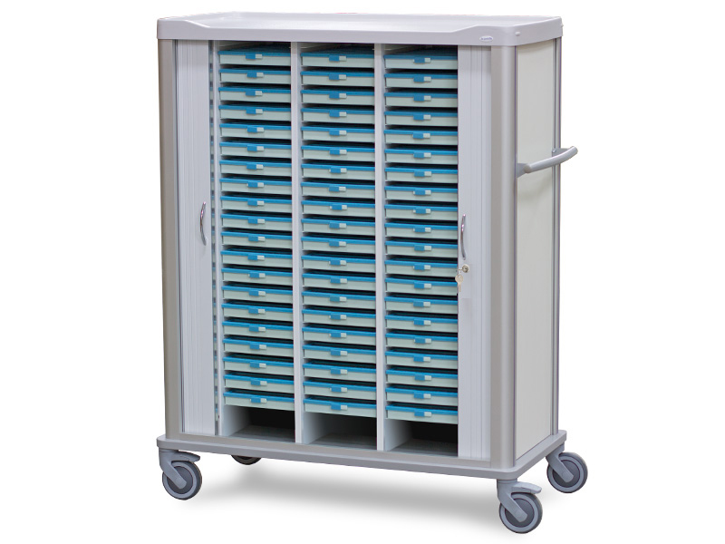 Carro de medicación para 60 bandejas- Gama BLP-4100-0