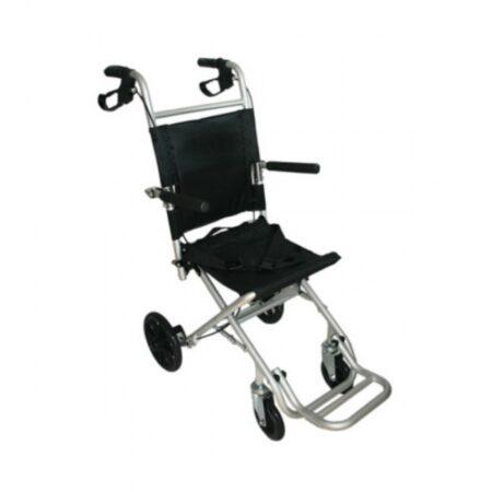 silla de traslado plegable aluminio 1