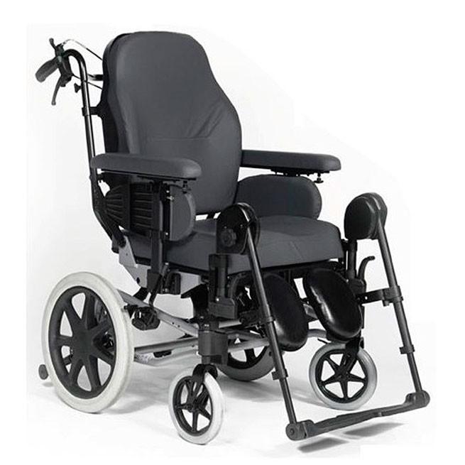 Silla de ruedas posicionamiento basculante y reclinable BASIC-0
