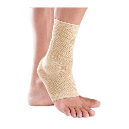 tobillera elastica con almohadillas visco elasticas orliman