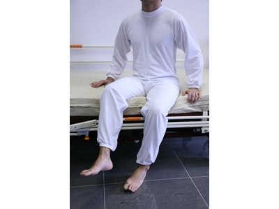 Pijama Largo con cremallera en espalda y piernas-2128