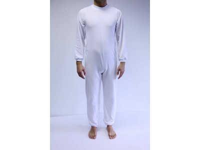 Pijama Largo con cremallera en espalda y piernas-0