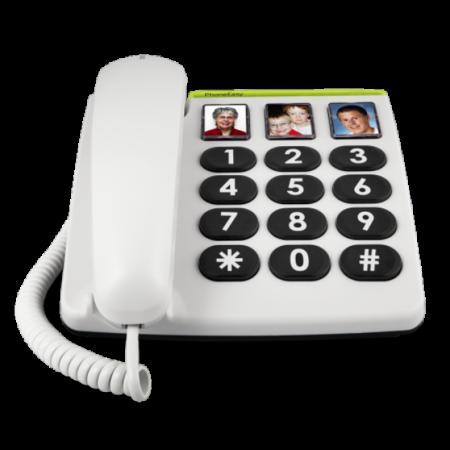 0doro phoneeasy 331ph white front 1