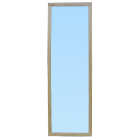 espejo fijo a pared con luna lisa 1