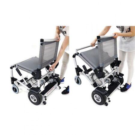 silla de ruedas electrica plegable zinger 1
