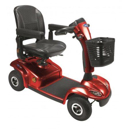 scooter leo 4 ruedas rojo