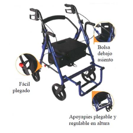 andador y silla r9 asister 1
