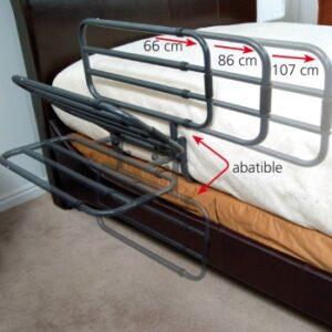 Barandilla extensible y abatible-0