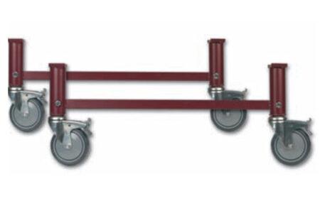 patas ruedas regulables
