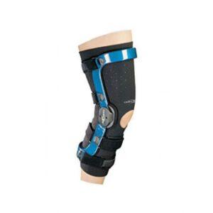 Revestimiento de protección de neopreno negro para rodilleras ultraligeras DonJoy-0