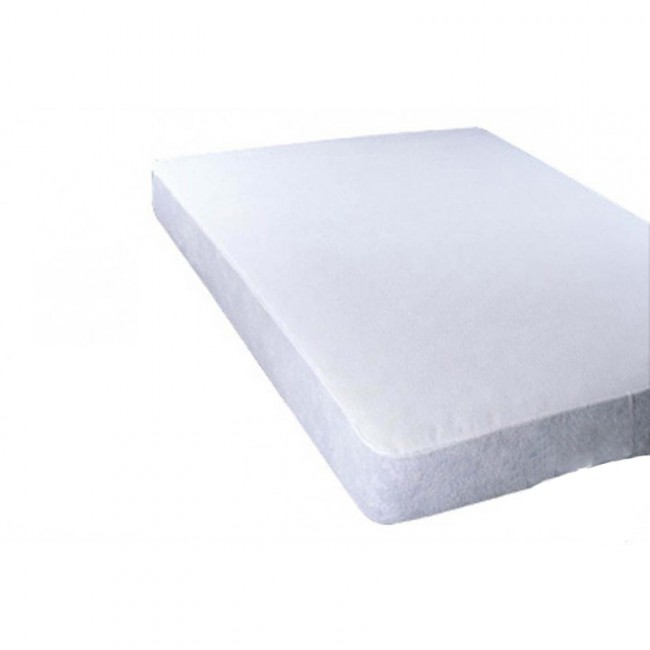 Funda de colch n pu impermeable e ignifuga saniplus - Protector de colchon impermeable ...