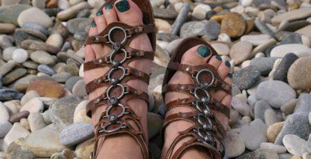 rozaduras pies sandalias