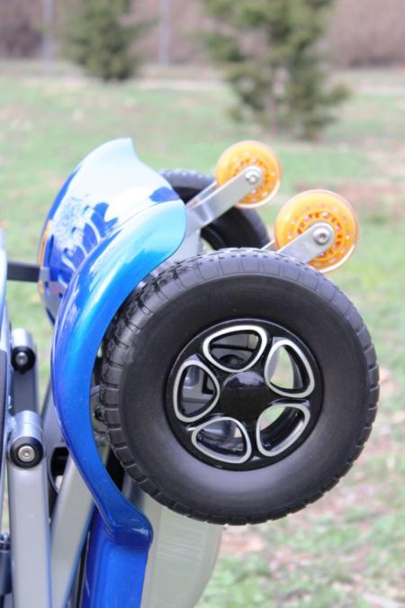 scooter bravo plegable con bater as de litio 16