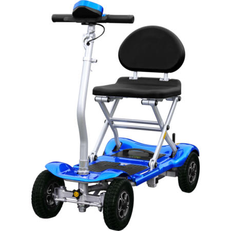 scooter bravo plegable con bater as de litio 2