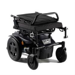 caracteristica silla de ruedas electrica compacta quickie q100r facil transporte