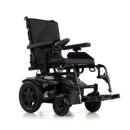 silla de ruedas electrica compacta quickie q100r negro