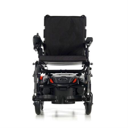 silla de ruedas electrica compacta quickie q100r vista frontal 1