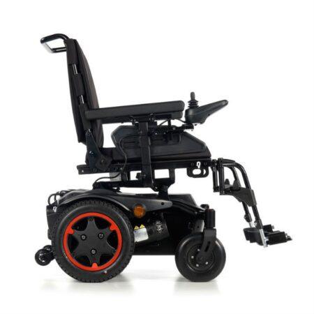 silla de ruedas electrica compacta quickie q100r vista lateral