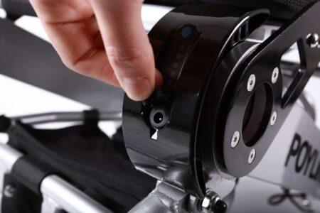 Silla de ruedas plegable eléctrica Spa-2822